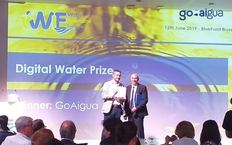 GoAigua wins the Digital Water Prize 2019