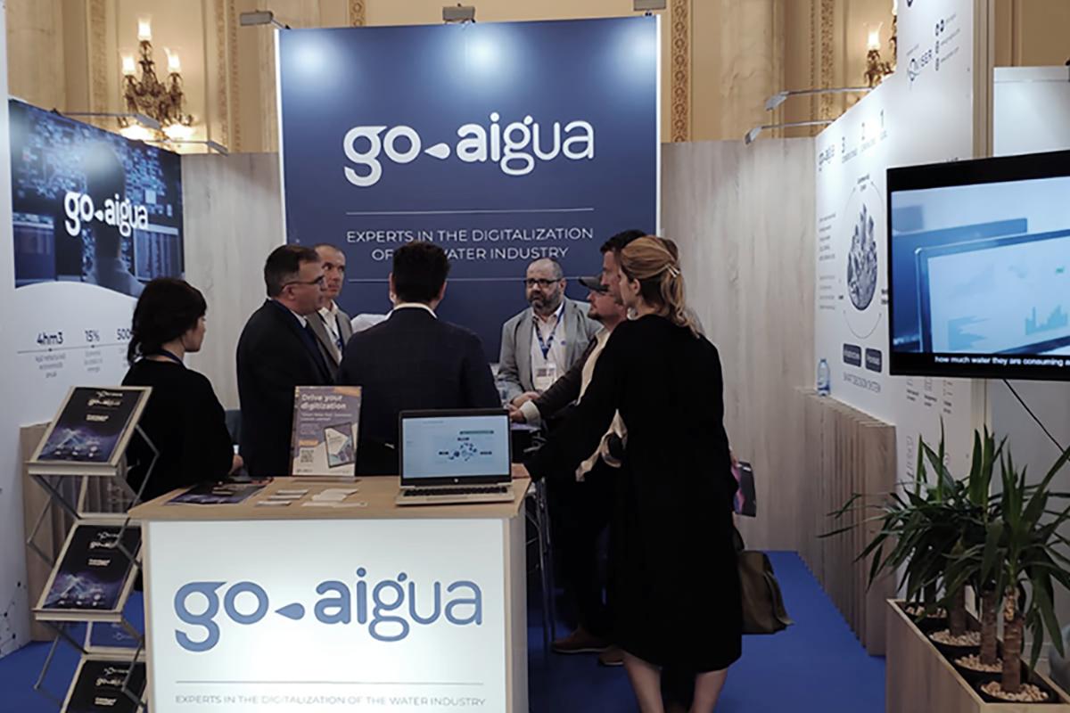 GoAigua stand in Expoapa 2019